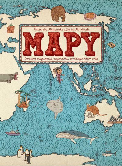 Mapy atlas kniha