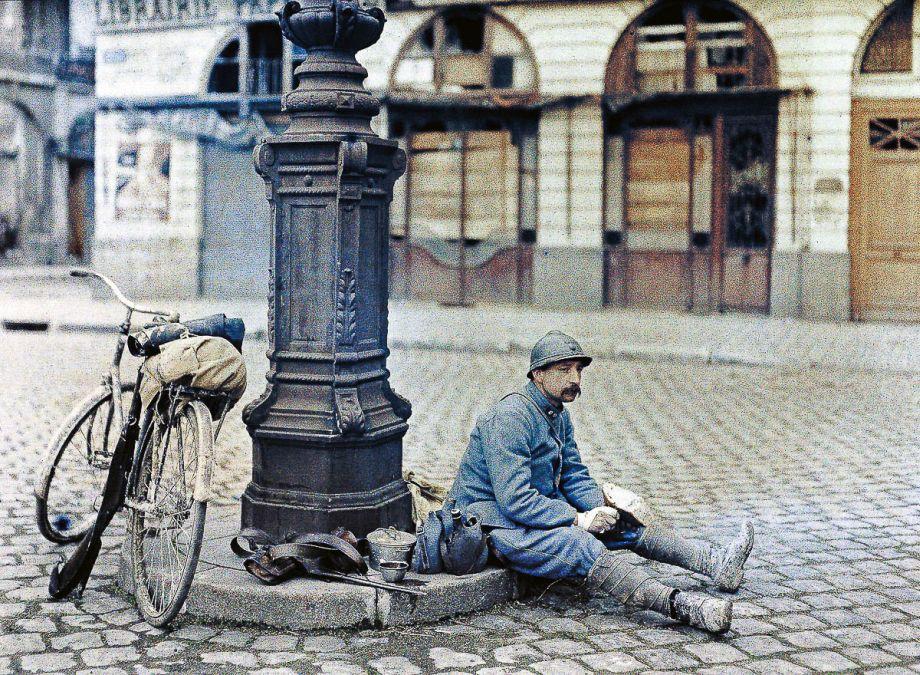 Prvá svetová vojna nebola čiernobielou. Pozrite si ju nafotografiách vofarbe
