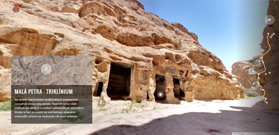 Spoznajte skalné mesto Petra cezvirtuálnu prehliadku