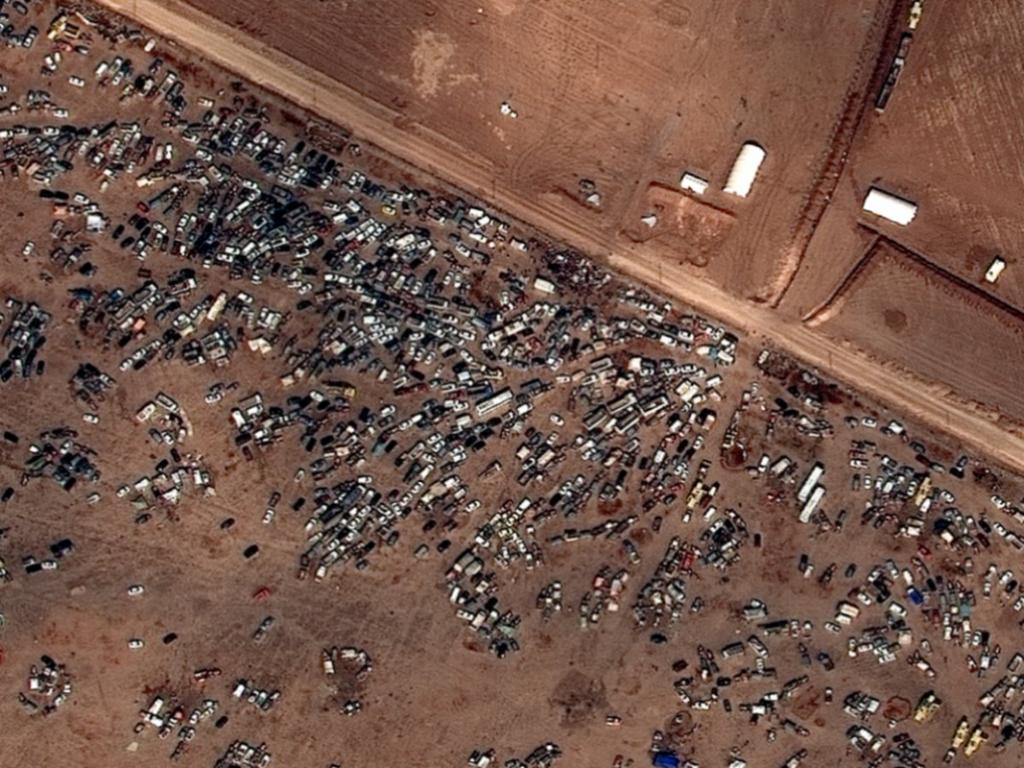 Satelitné snímky ukazujú vojnovú skazu Sýrie