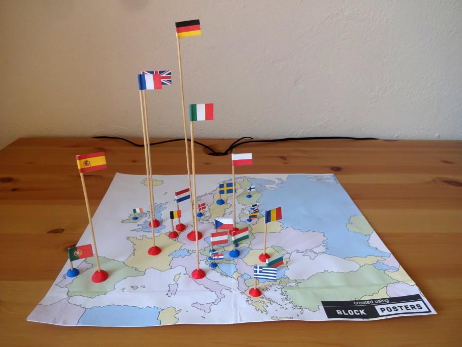 hravá geografia mapa špajdle