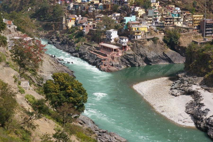 Miesto, kde sa rodí Ganga