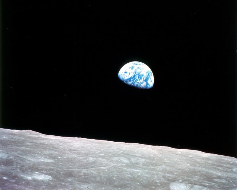 zem modrá planéta fotografia