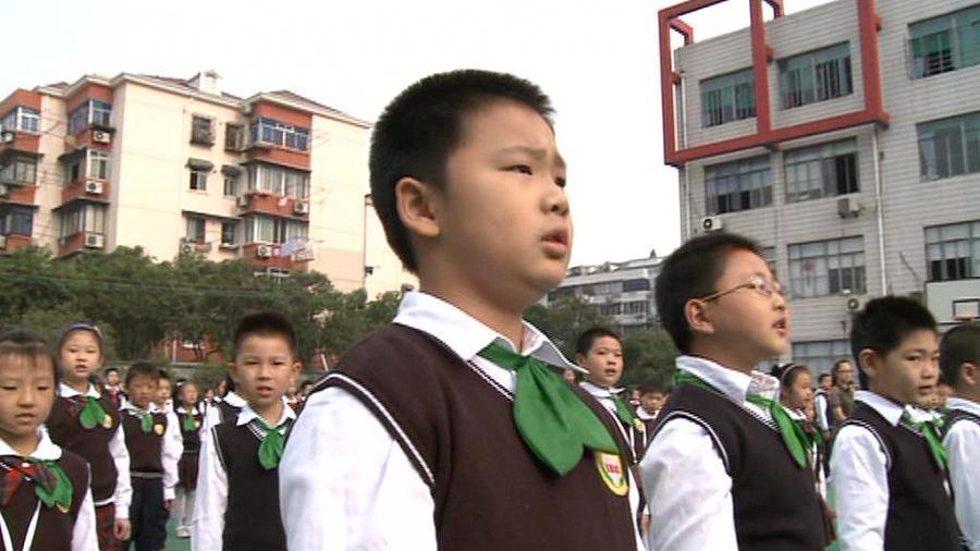 Denný režim čínskeho školáka