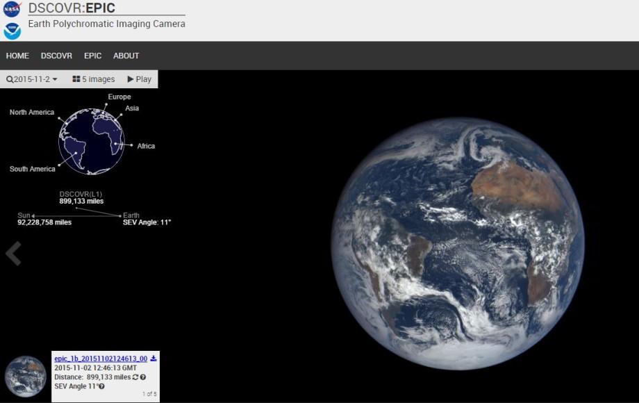 Vesmírne selfíčko Zeme kukaždodennej rannej káve