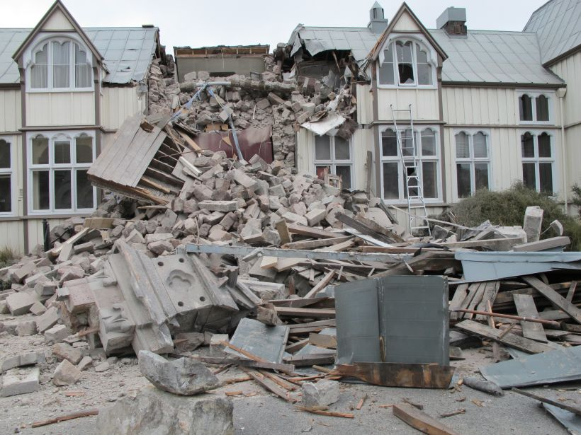 zemetrasenie geografia
