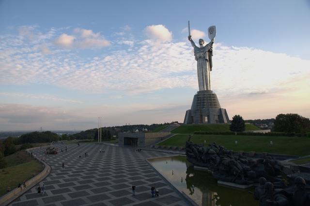 Matka vlasť socha Kyjev