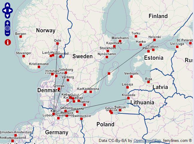 Zabudnite nalietadlá, pozrite si mapu európskych trajektov