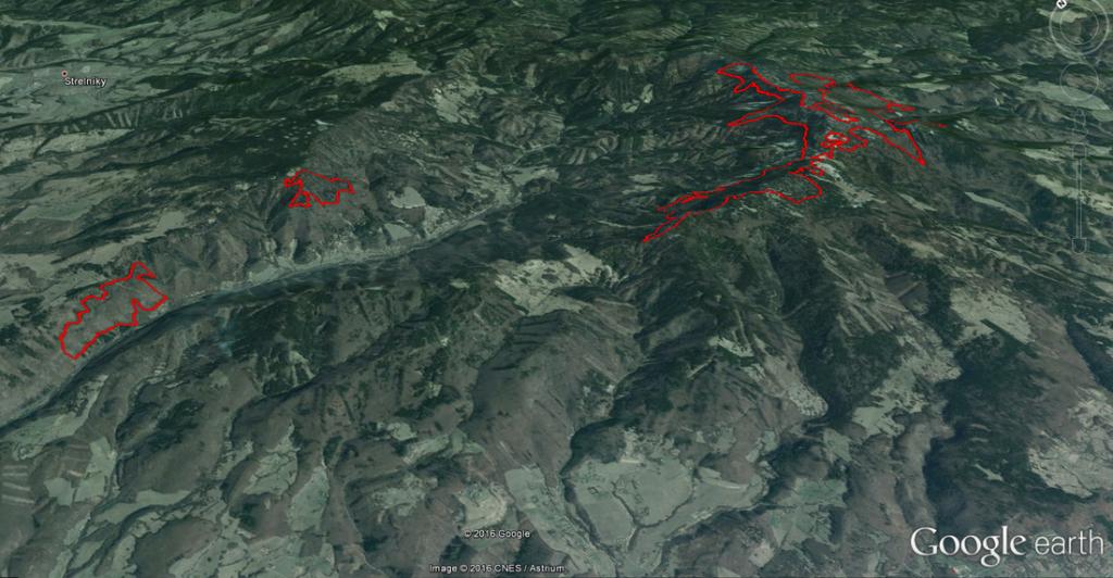 Spoznajte pralesy Slovenska cezmapu, ktorú si spravíte sami