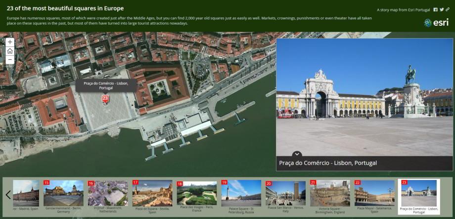 Spoznajte najkrajšie námestia Európy vmapovom príbehu