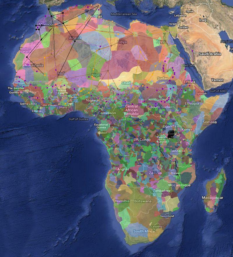 Spoznajte Afriku pomocou interaktívneho atlasu