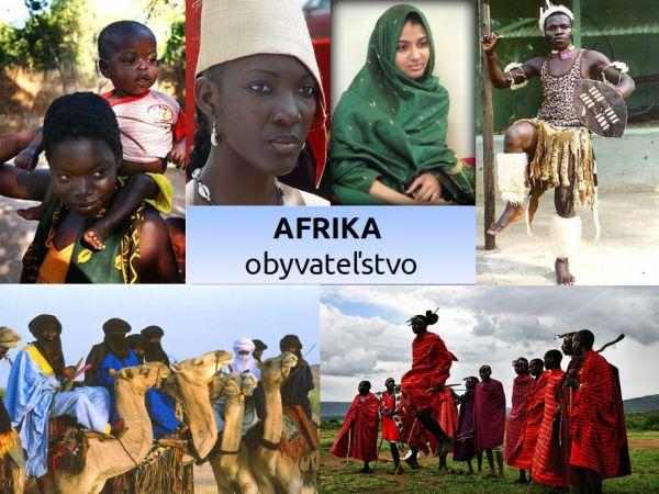 Obyvateľstvo asídla Afriky (prezentácia)