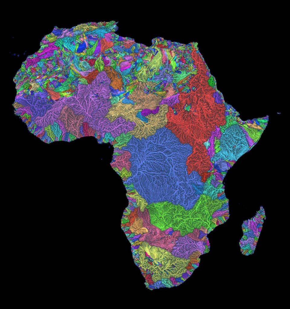 Rieky akožily. Mapy povodí hrajú farbami