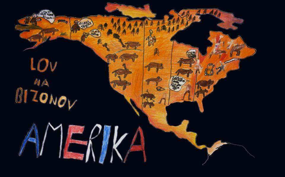 tvorivá geografia mapa deti