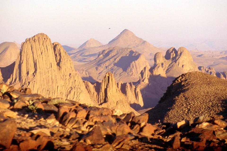 Mars naZemi? Pohorie Džibál al-Hukkár