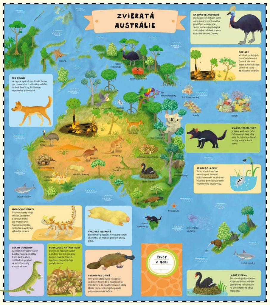 kreslený atlas zvierat