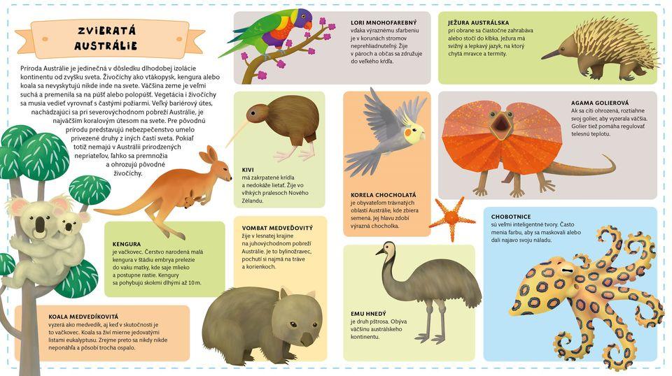 Austrália zvieratá