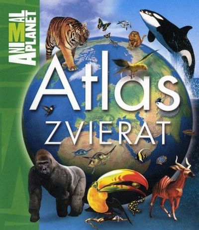 Atlas zvierat detský