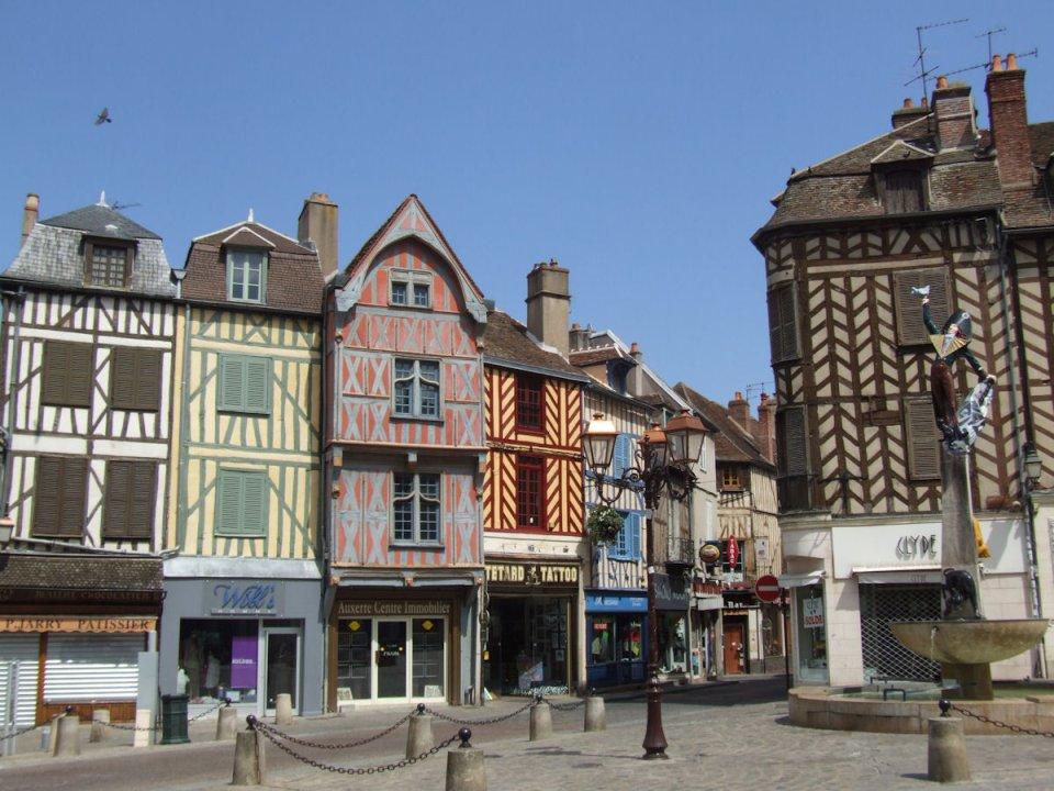 Auxerre –neznáma francúzska kráska