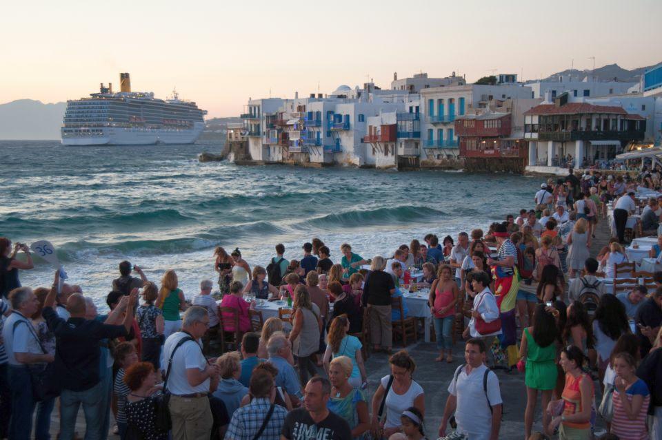 Benátky problémy turisti
