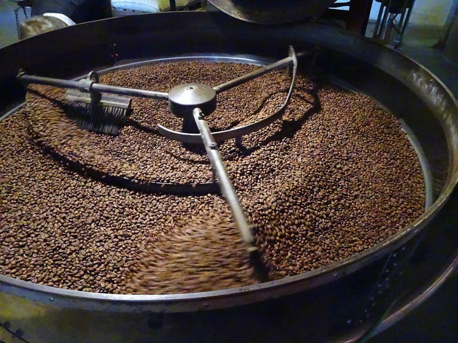 pražiareň kávy