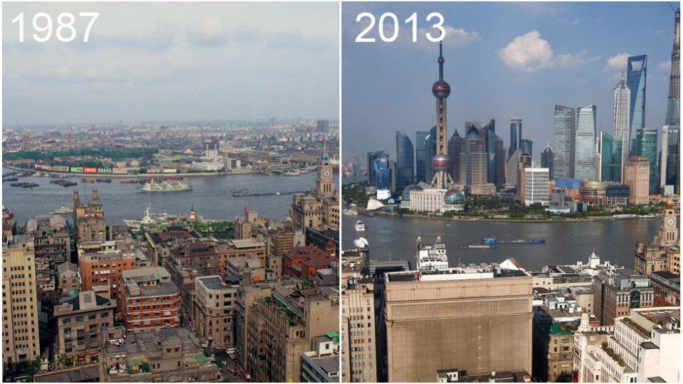 Šanghaj premeny mesta