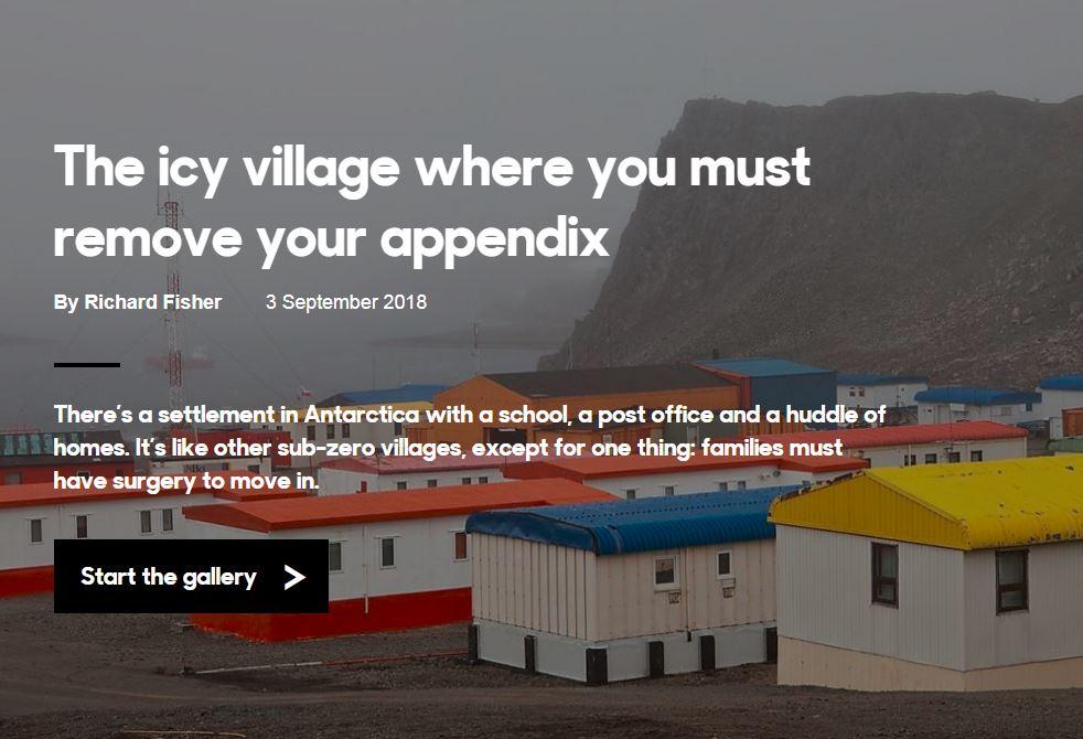 Ako sa žije vdedine vľadovom zovretí Antarktídy