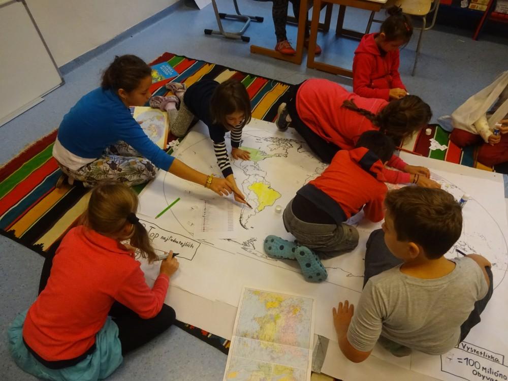 Aj malé deti môžu tvoriť veľké mapy