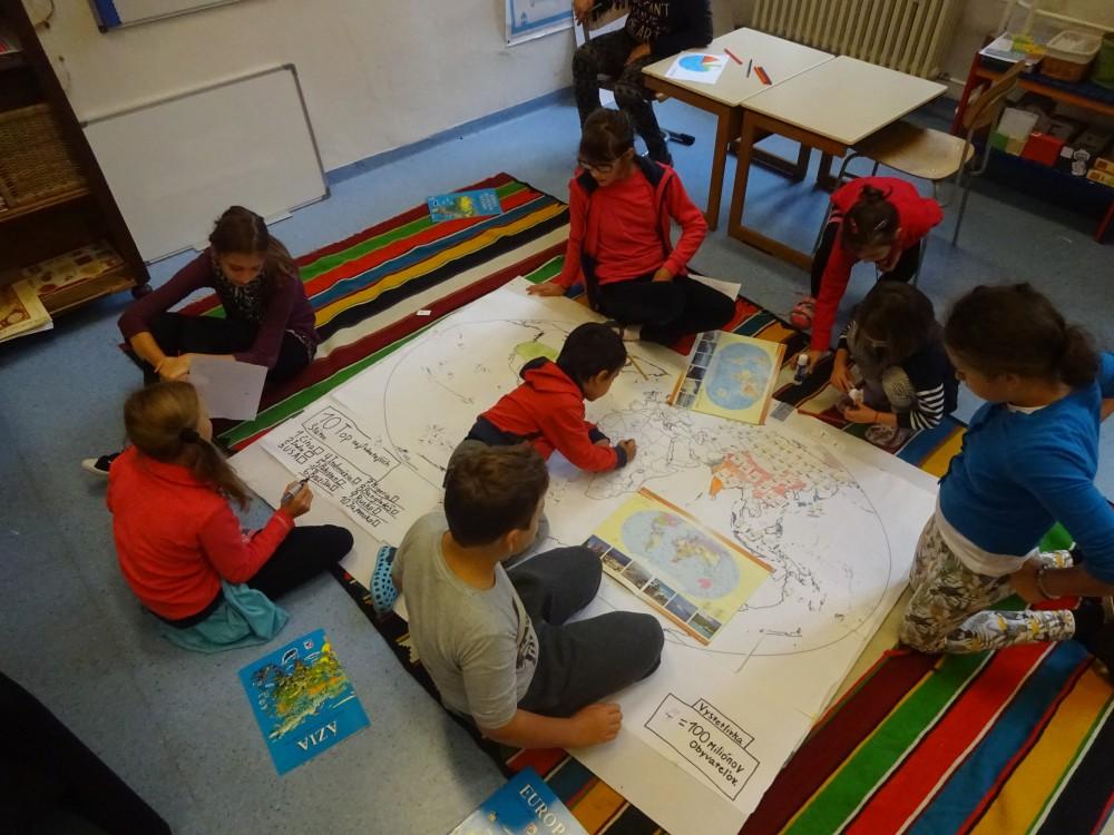skupinová práca vyučovanie