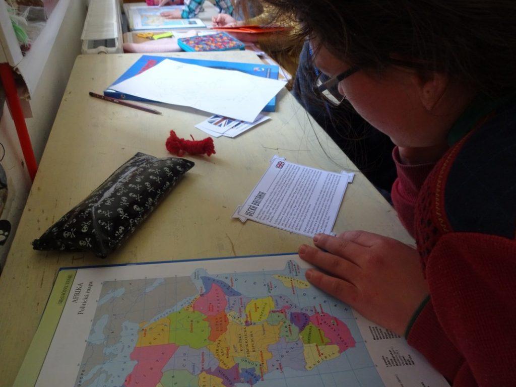 rozvoj myslenia geografia