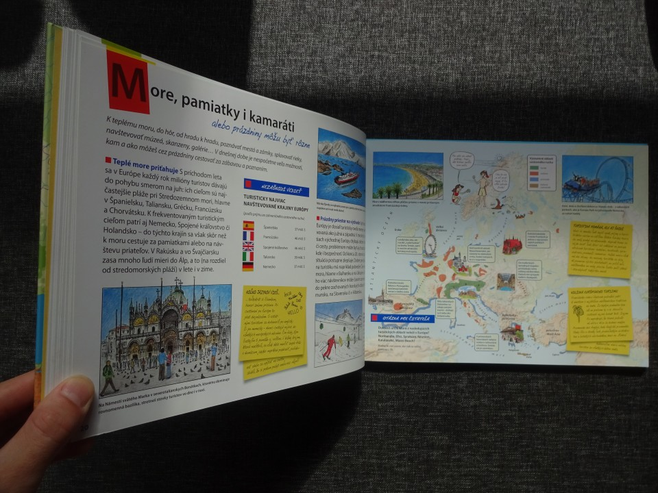 Atlas Európy pre deti