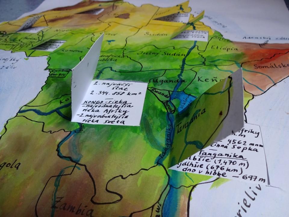 Nádielka inšpirácií nažiacke projekty zgeografie