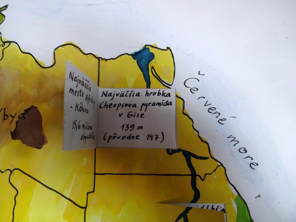 školský projekt geografia