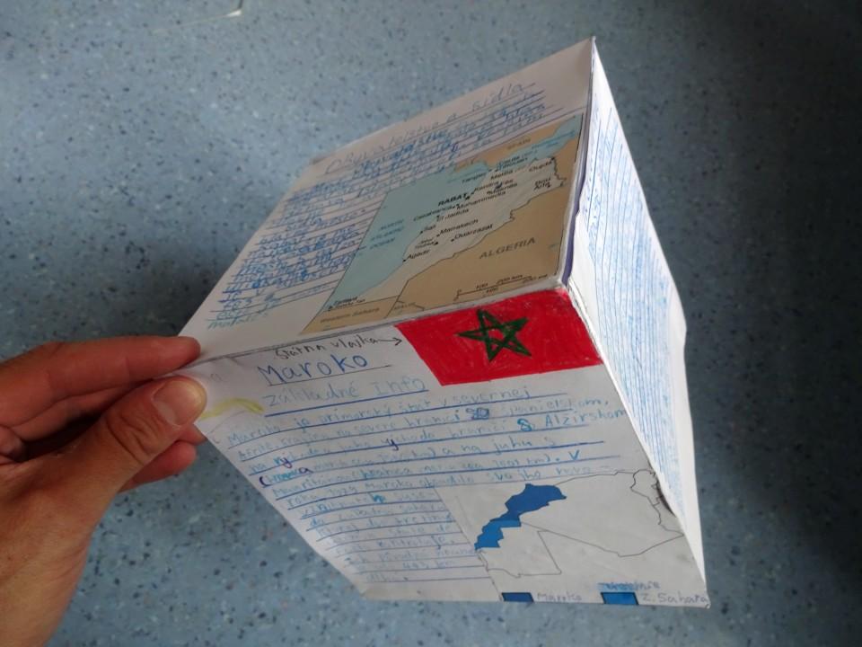 projektové zadanie geografia