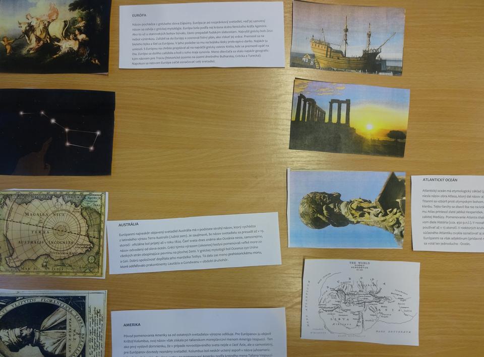 didaktická hra geografia
