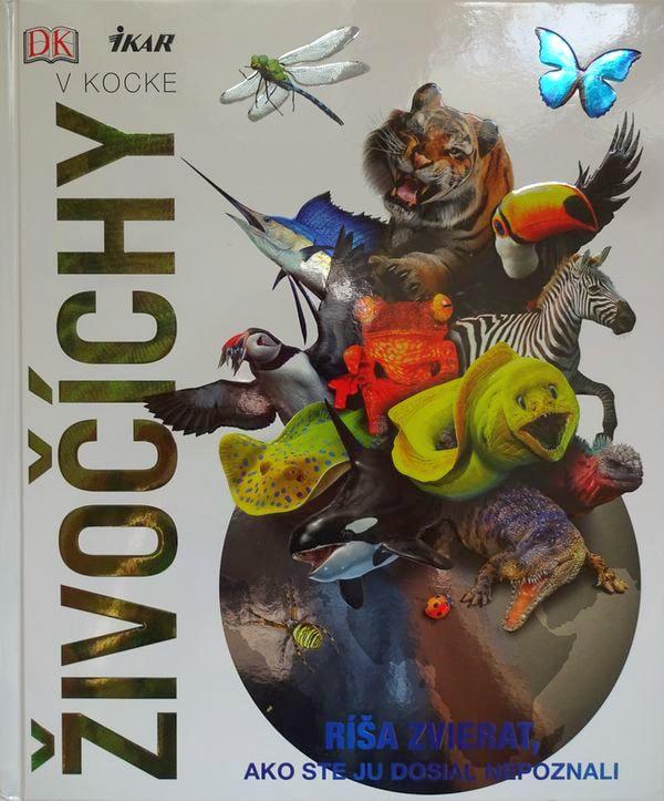 Živočíchy vkocke. Encyklopédia, ktorá by nemala chýbať vovašej knižnici