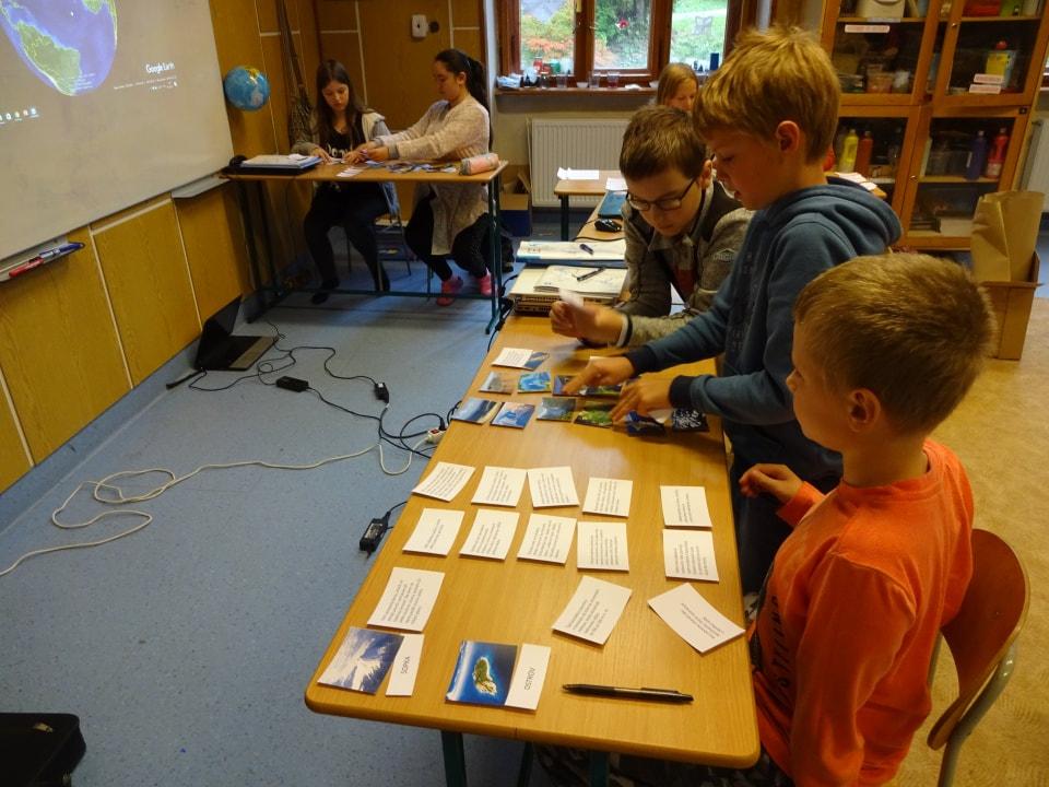 didaktická hra karty geografia