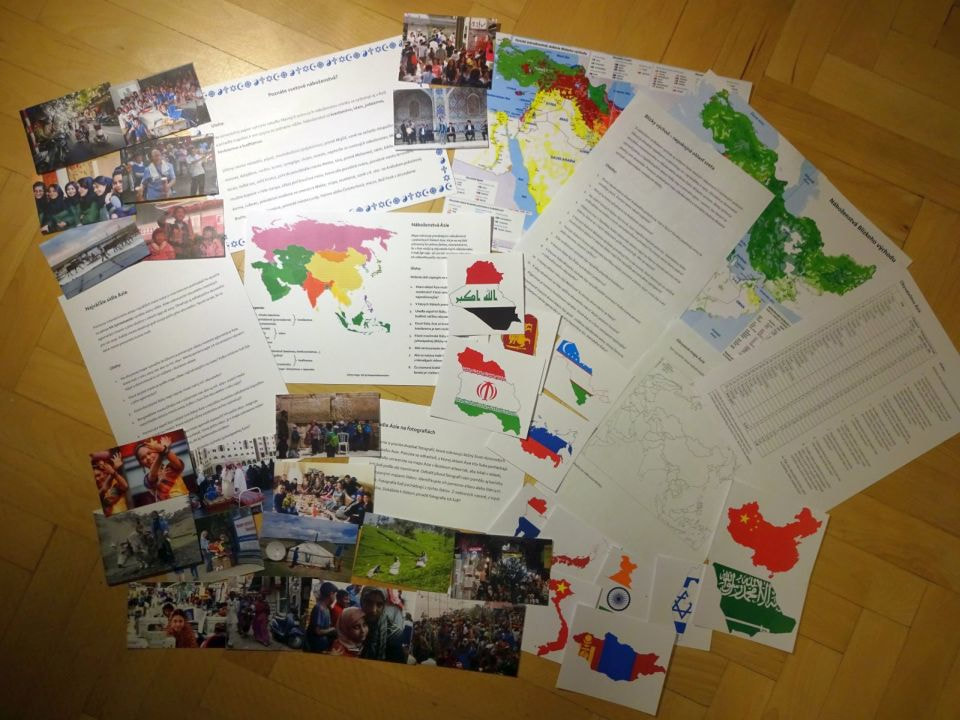 obyvateľstvo Ázie skupinové vyučovanie