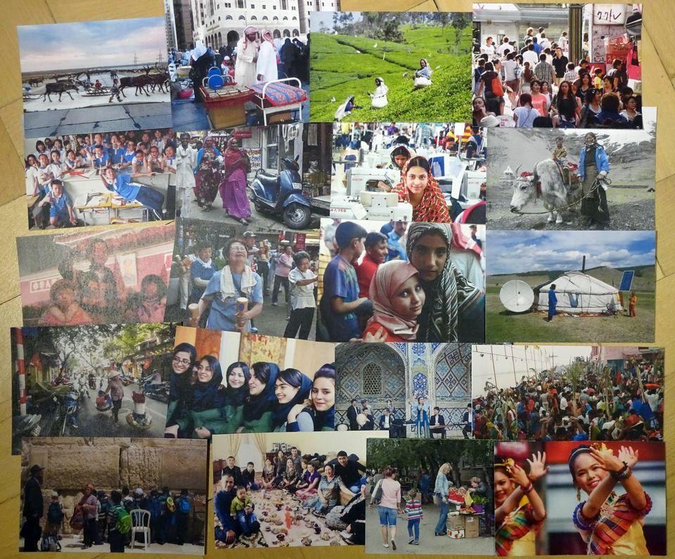 ľudia Ázie práca v skupinách geografia