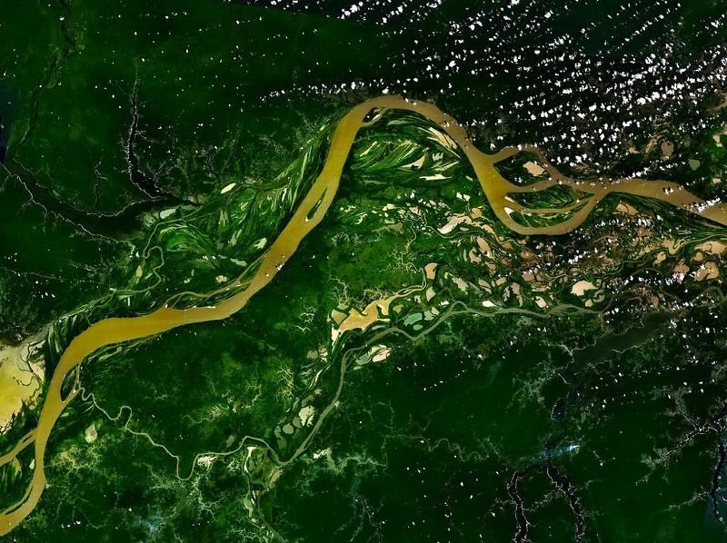 ako voda mení zemský povrch