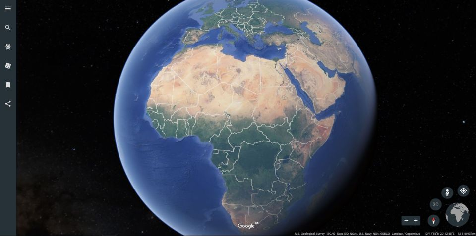 Google Earth v škole