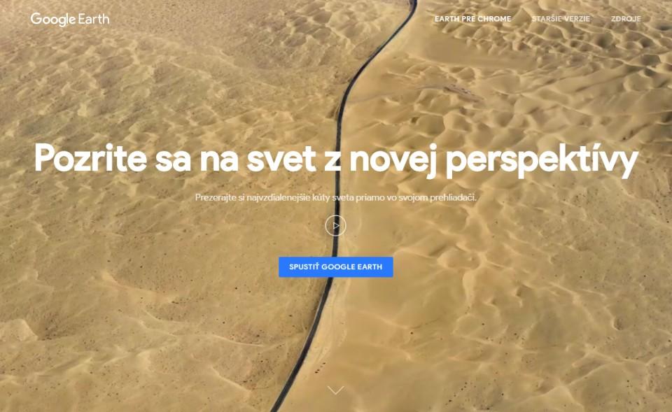 Je tu nový Google Earth. Akosa odlišuje odsvojich predchodcov?