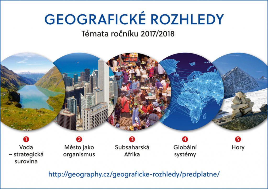 geografické rozhledy časopis