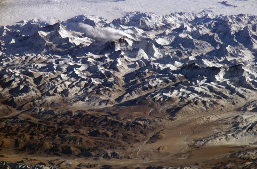Himaláje za30 sekúnd. Model vzniku vrásových pohorí