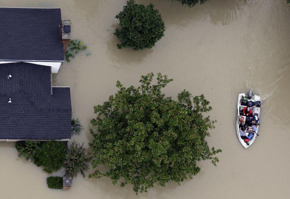 Následky hurikánu Harvey