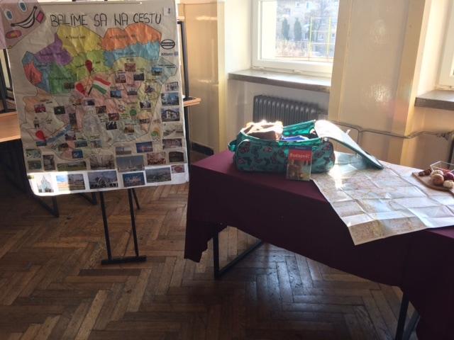 cestovný ruch projekt škola