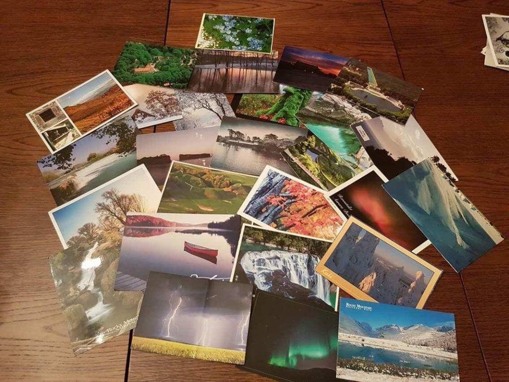 Postcrossing zbierka pohľadníc