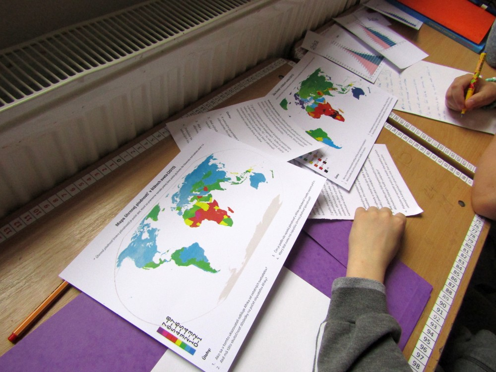 geografia práca s tematickou mapou