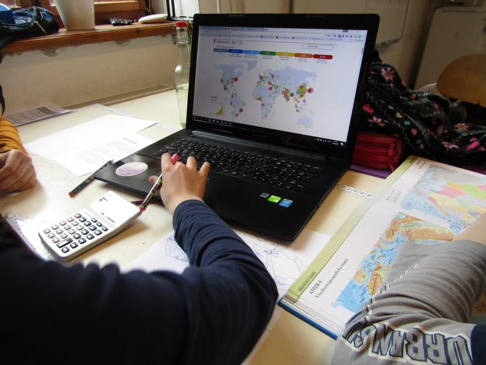 IKT geografia vyučovanie