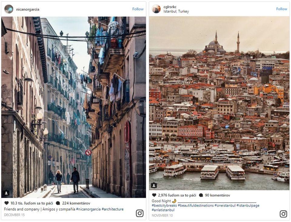 Ktoré mestá sveta kraľujú naInstagrame? Pozrite si prvú desiatku